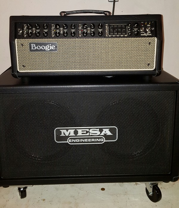 Mesa Boogie Mark 5, with REctifier Cabinet Loaded with Celestion V30's